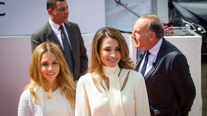La reine Rania de Jordanie, à l'ouverture de l'université d'été du Medef