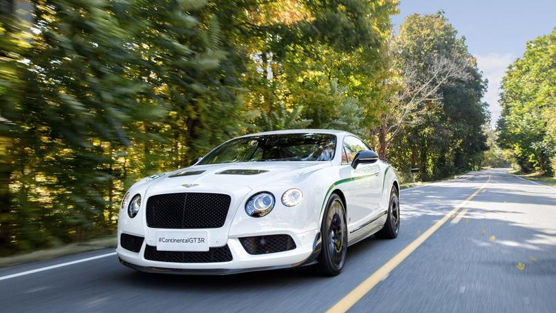 Bentley Continental GT3-R, une élégante en tenue sportive