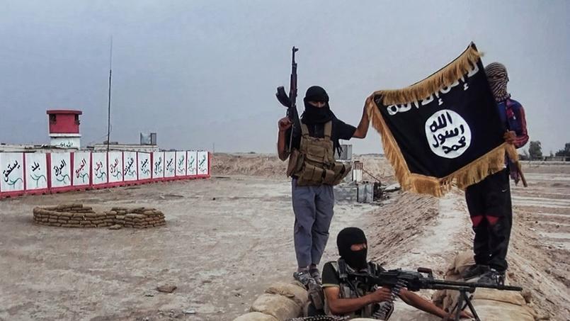 Djihadistes du groupe État islamique.