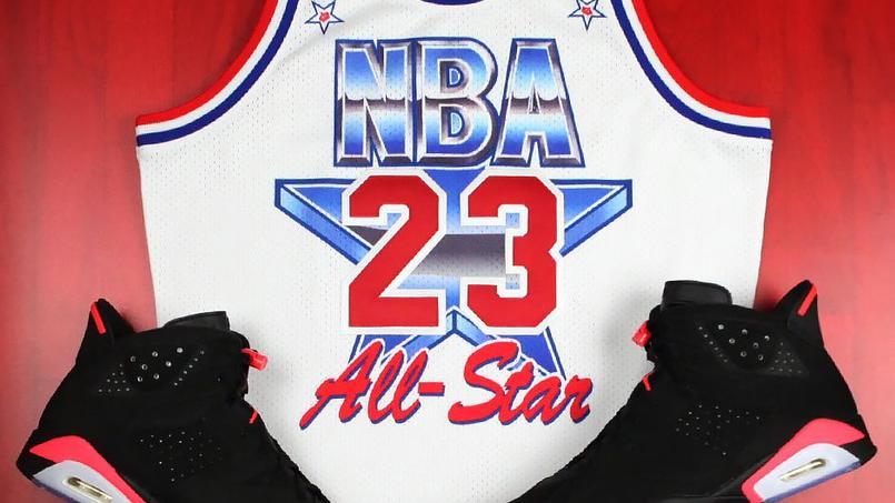 newest cf720 cb2b7 Le maillot de Jordan du All Star Game 1991 va être réédité.