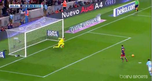 Le penalty génial tenté et réussi par Messi et Suarez