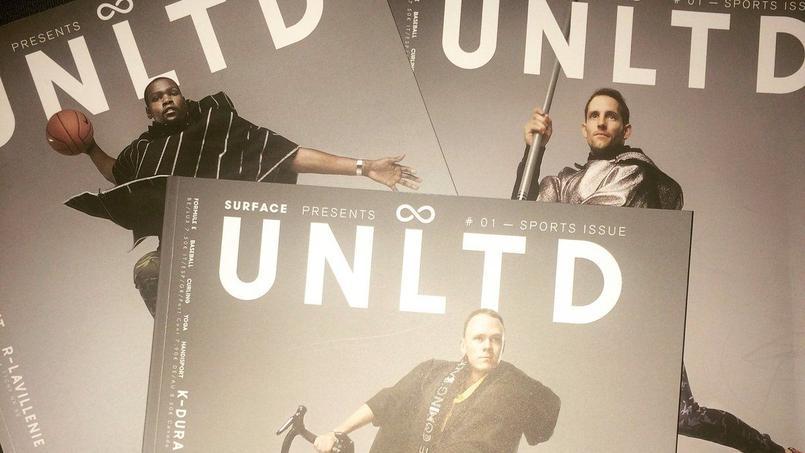 UNLTD, le nouveau magazine international dédié au sport.