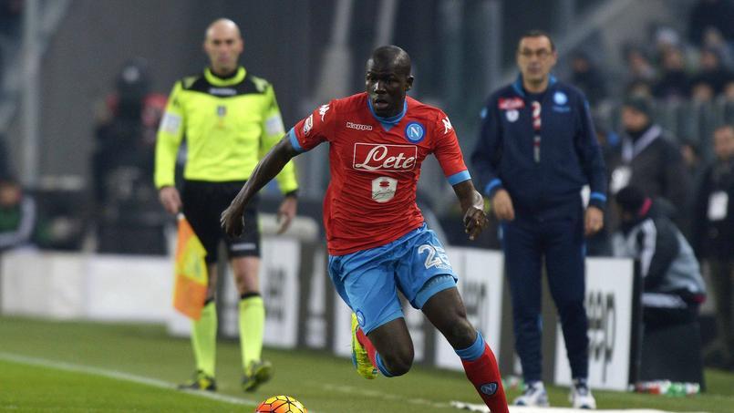 Kalidou Koulibaly, international sénégalais, a été supervisé par l'équipe de France