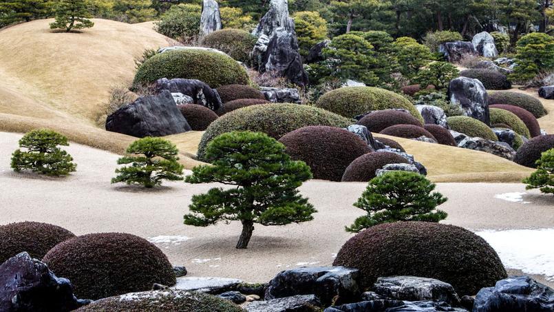 yasugi un jardin japonais pens comme un tableau vivant. Black Bedroom Furniture Sets. Home Design Ideas