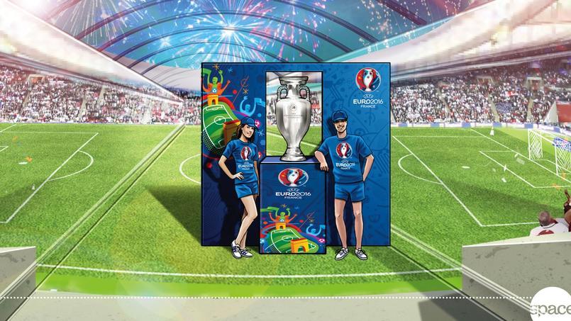 Le trophée de l'Euro sera en tournée dans toute la France.