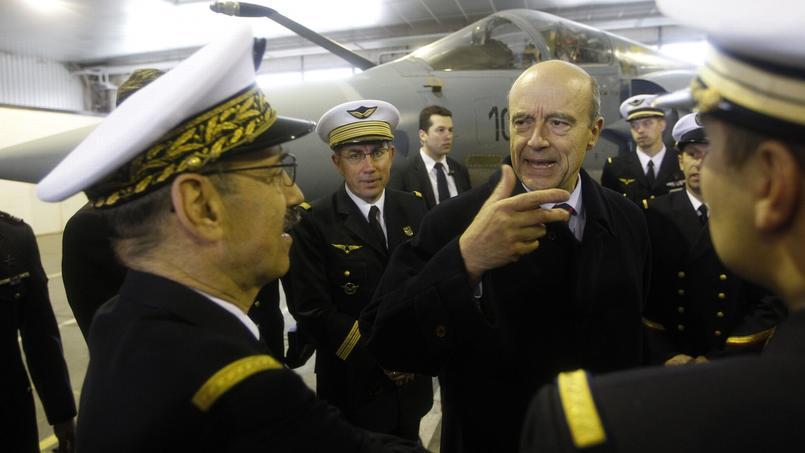 Alain Juppé, en 2011, alors ministre de la Défense de Nicolas Sarkozy
