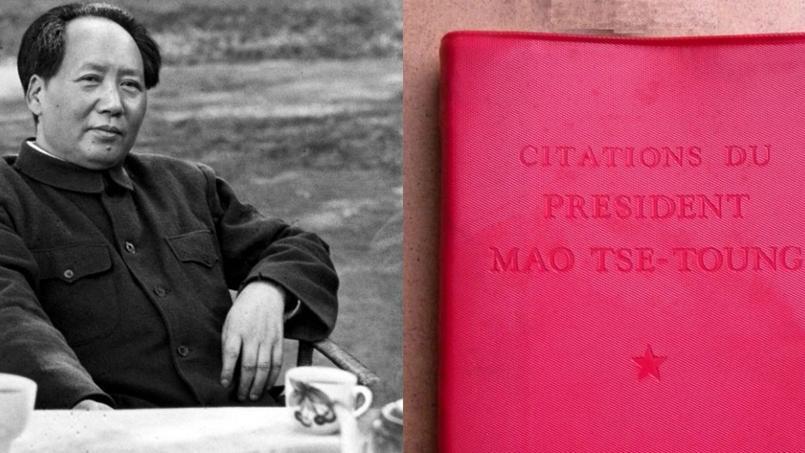 Les formules du président chinois Mao Tsé-Toung ont fait le tour du monde grâce au Petit Livre rouge, publié en 1964.