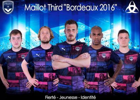 Bordeaux a présenté son troisième maillot pour la saison prochaine.