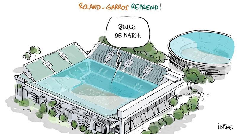 Roland-Garros reprend!
