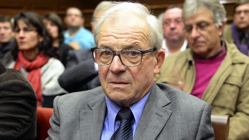 Daniel Amblevert lors de son procès en appel, en décembre 2014, à Bordeaux.