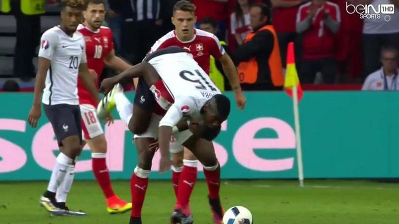 L'acrobatie de Paul Pogba face à la Suisse