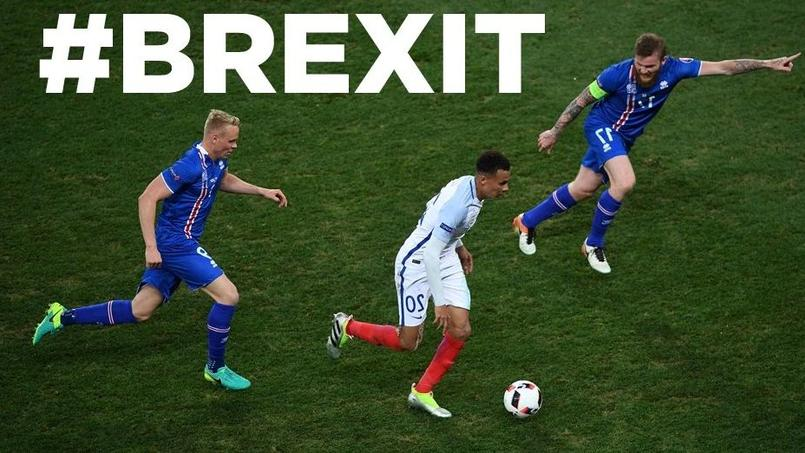 Brexit, Dany Boon, Titanic: les meilleurs tweets d'Angleterre-Islande
