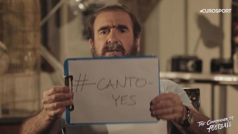 Eric Cantona se porte candidat au poste de sélectionneur de l'Angleterre