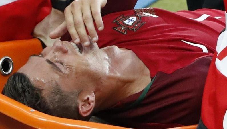 Les larmes de Cristiano Ronaldo au Stade de France