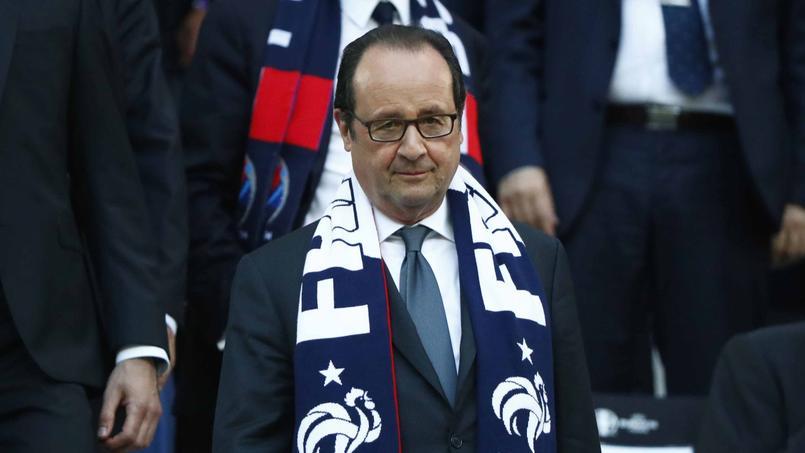 Pour François Hollande, l'Euro permet aux «Français de se retrouver»
