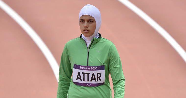 Sarah al-Attar s'était alignée sur 800 m aux JO de Londres.