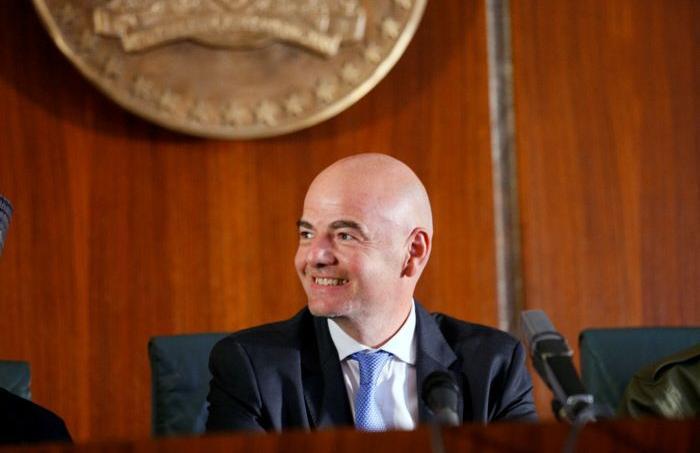 Gianni Infantino, le président de la FIFA.