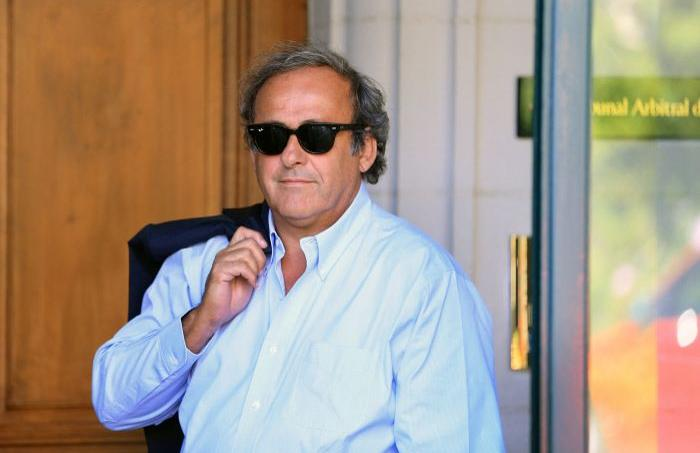 Michel Platini au Tribunal arbitral du sport le 25 août 2016.