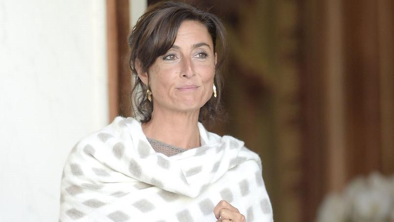 Nathalie Iannetta à l'Elysée en août 2014.