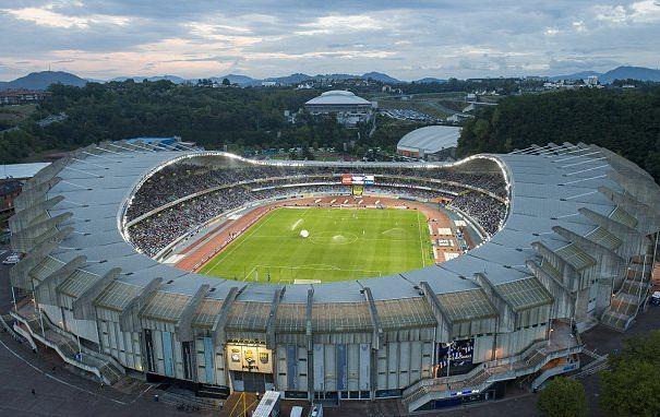 Le stade d'Aneota, antre de la Real Sociedad.
