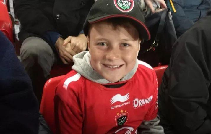 Jacob Ranson, 10 ans.