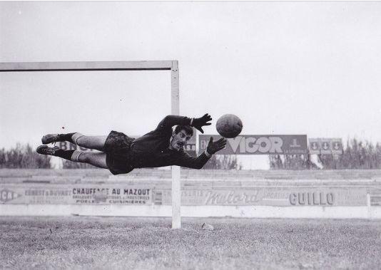 René Vignal, gardien des Bleus dans les années 40. Crédits: Rene-vignal.fr