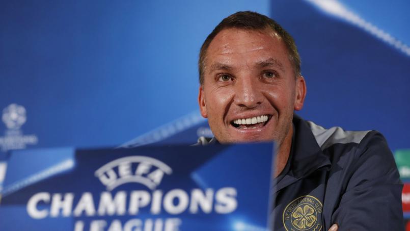 L'entraîneur du Celtic Glasgow Brendan Rodgers a été très amusé par une question posée en conférence de presse.