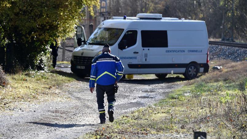 Près des lieux du drame, dimanche, entre Tarascon-sur-Ariege et Ussat.
