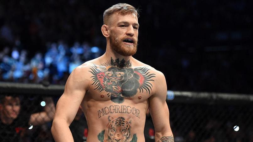 Connor McGregor, champion poids plumes et poids légers de l'UFC.