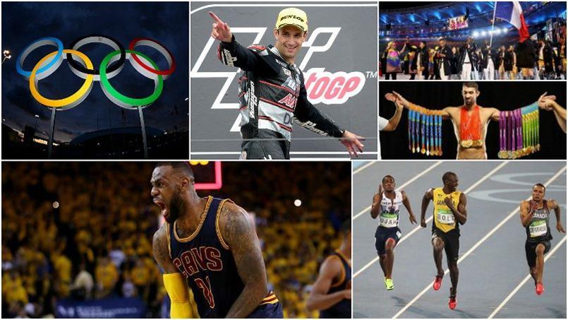 Quiz : avez-vous bien suivi l'année sportive 2016 ?