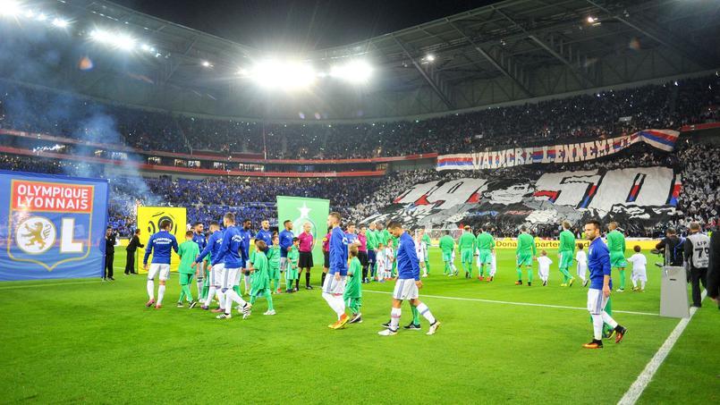 Le Parc OL à l'occasion du derby face à Saint-Etienne le 2 octobre 2016.