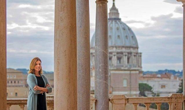 Barbara Jatta, nouvelle directrice des musées du Vatican.