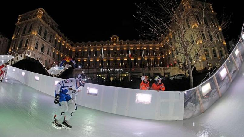 Le parcours du Red Bull Crashed Ice à Marseille.