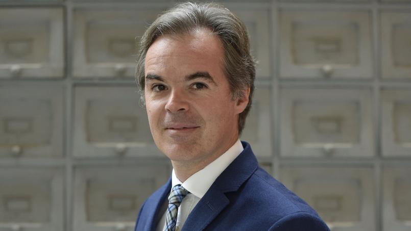 Julien Bergeaud, patron français d'Eurosport, filiale d'un groupe américain.