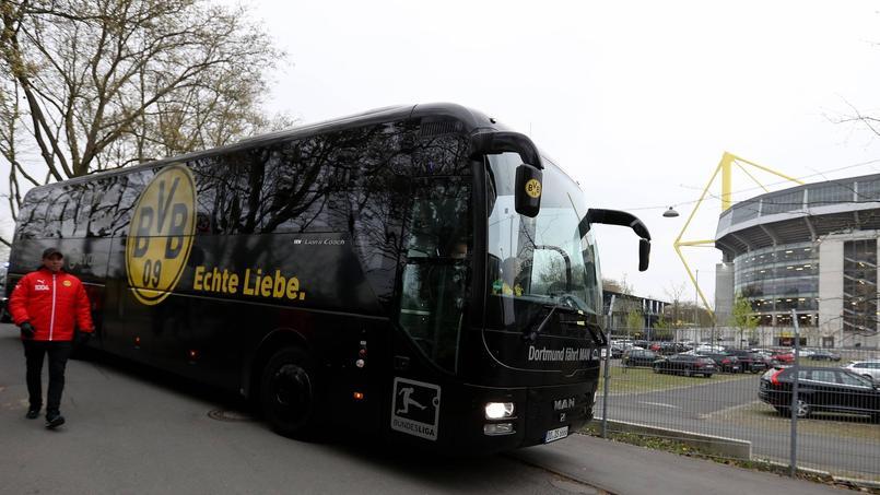 Le bus du Borussia Dortmund touché par une triple explosion le 11 avril dernier