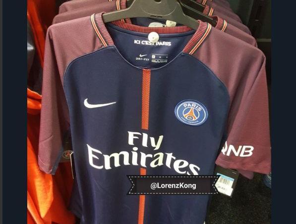 Maillot Domicile PSG achat