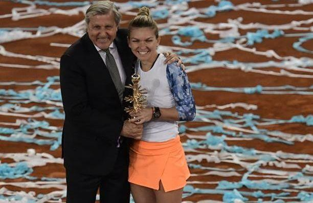 La WTA furieuse de la présence de Nastase à la remise des trophées à Madrid