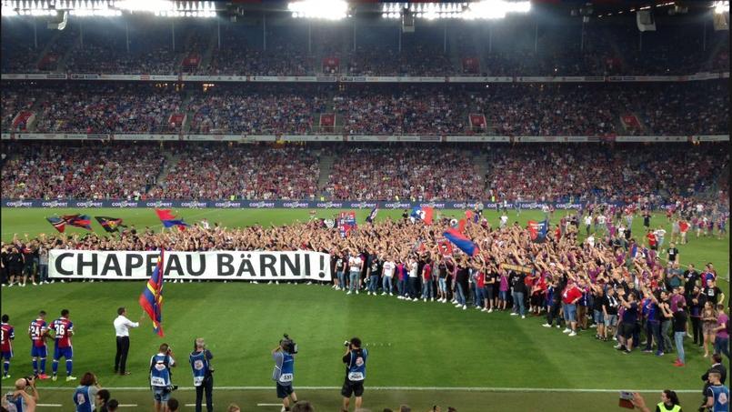 La communion était totale entre les fans et Bernhard Heusler