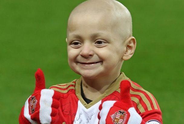 Bradley Lowery, le jeune supporter de Sunderland qui a combattu un cancer rare a ému toute l'Angleterre.
