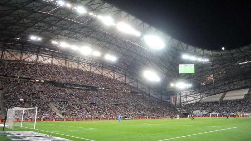 Le stade Vélorome-Orange à Marseille, en août 2017.