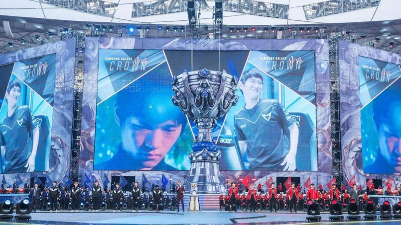 La dernière manche des championnats du monde de League od Legends, s'est disputée samedi dans le «Nid d'oiseau» de Pékin, l'emblématique stade olympique des JO 2008.