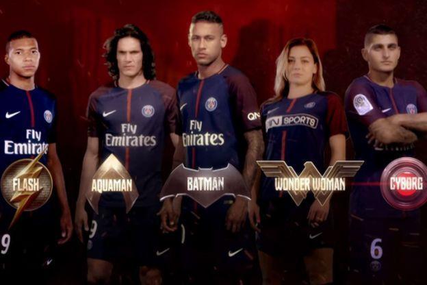 Le nouveau clip du PSG: Des joueurs en super-héros