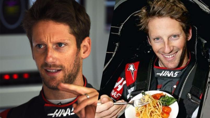 Romain Grosjean, du volant de Formule 1 aux fourneaux