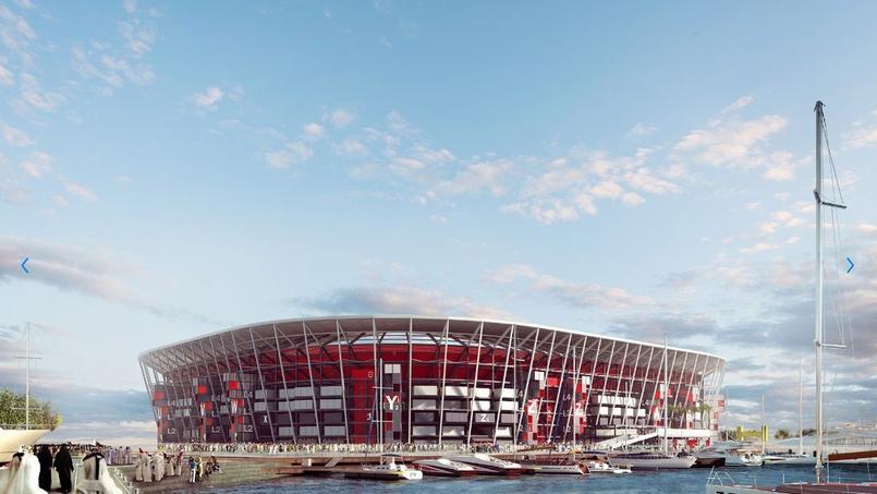 Mondial 2022 : le Qatar présente son stade démontable