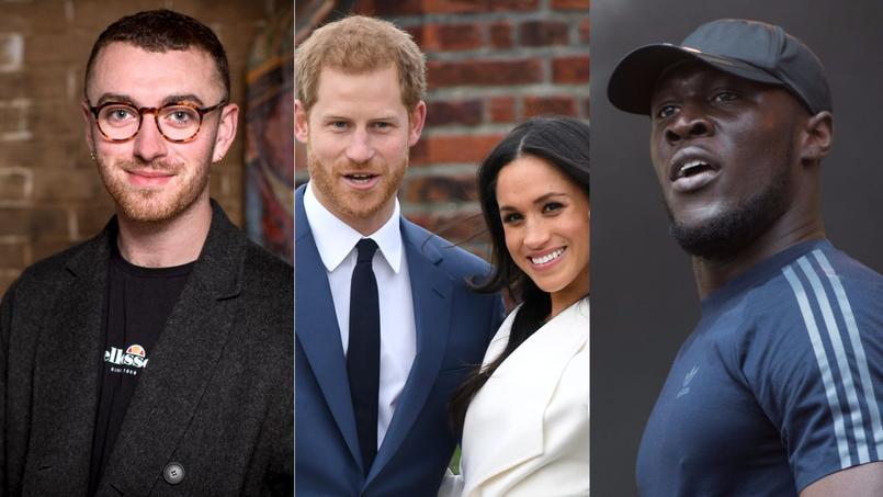 Les Anglais Sam Smith et Stormzy rêvent de chanter au mariage du prince Harry