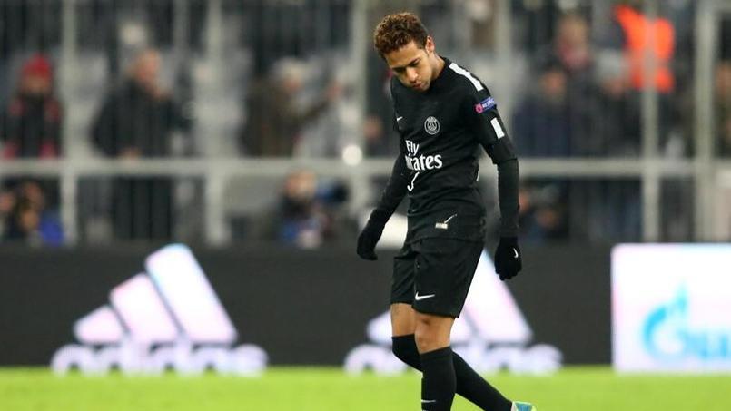 Neymar, cible de jets de faux billets à Munich