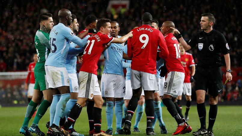 Une pique sur Zlatan Ibrahimovic à l'origine de la bagarre du derby de Manchester ?