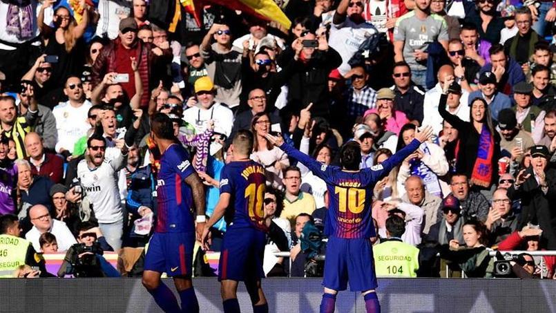 Les indépendantistes catalans jubilent après la victoire du Barça face au Real Madrid