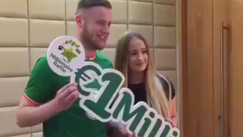 Un footballeur irlandais gagne 1 million d'euros au Loto