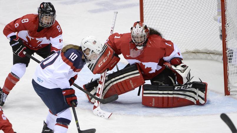Les Etats-Unis et le Canada, grands favoris du tournoi de hockey féminin en Corée du Sud.